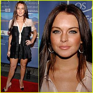 Lindsay Lohan Livin' Los Angeles Italia