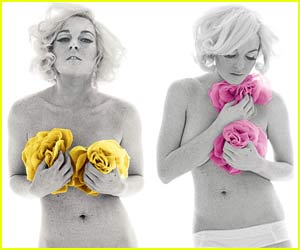 Lindsay Lohan is Marilyn Monroe