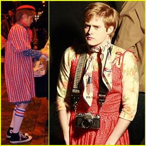 Lucas Grabeel in a Dress!