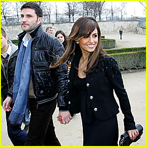 Monica Cruz @ Paris Fashion Week