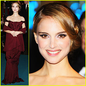 Natalie Portman is a Burgundy Babe