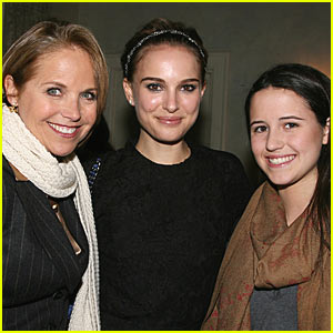 Natalie Portman and Katie Couric Chat It Up