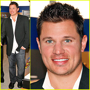 Nick Lachey Has Hot Wheels