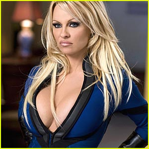 Pamela Anderson is a Superhero Chick