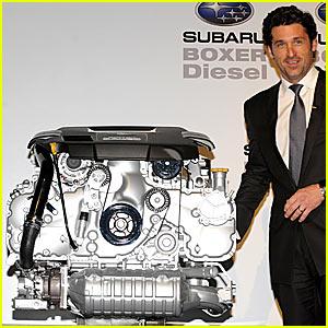 Patrick Dempsey is a Motor Man