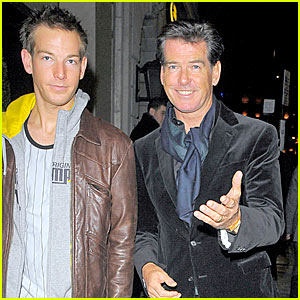 Pierce Brosnan & Son Sean's Jolly Good Time
