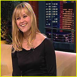 Reese Witherspoon @ Leno