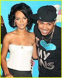 Chris Brown & Rihanna are Pool Playmates