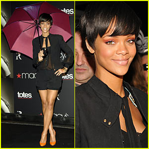 Rihanna's Second Umbrella Line Launch