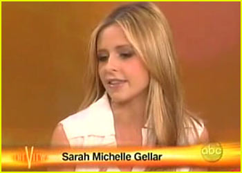 Sarah Michelle Gellar on 'The View'