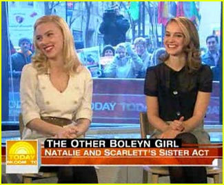 Scarlett Johansson and Natalie Portman @ 'The Today Show'