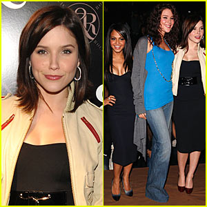 Sophia Bush Does the Rock & Republic