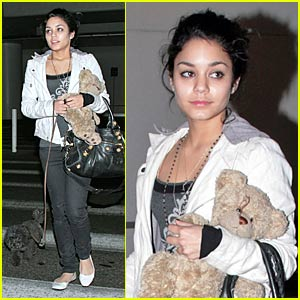 Vanessa Hudgens and Her Two Furry Friends