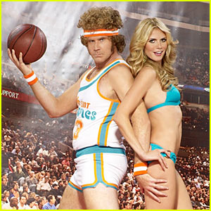 Will Ferrell Dunks on Heidi Klum