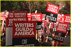 The Writers' Strike is OVER