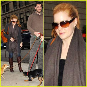 Amy Adams Preps For SNL