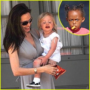 Angelina Jolie Enters Mommy Mode