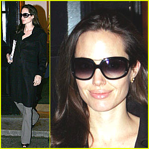 Angelina Jolie Hearts New York
