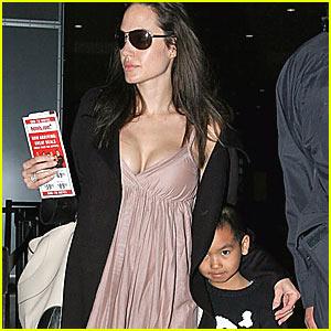 Angelina Jolie is a Yummy Mummy