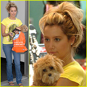Ashley Tisdale's Puppy Love