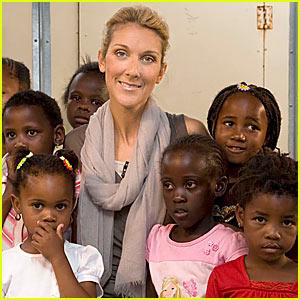 Celine Dion @ Idol Gives Back