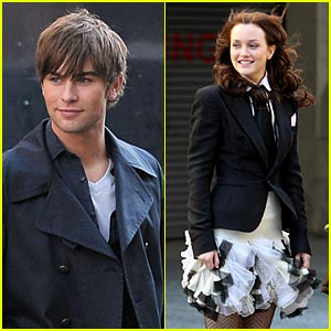 Chace Crawford & Leighton Meester are Picture Perfect