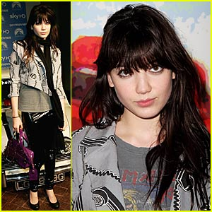 Daisy Lowe is a Supermodel
