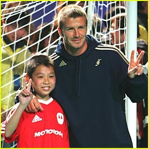 David Beckham: V For Victory!