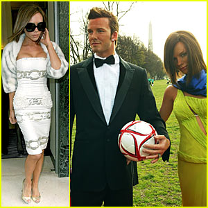 The Beckhams Have Fine Figures