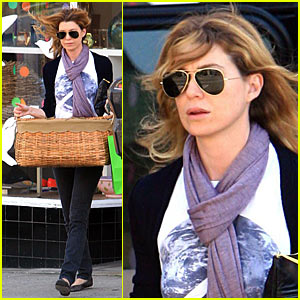 Ellen Pompeo is a Basket Case