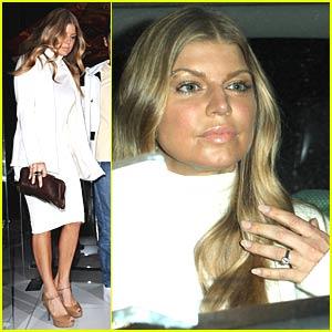 Fergie's Bling Bling Engagement Ring