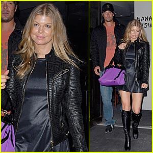Fergie Looks Pregnant -- Do You See a Baby Bump?