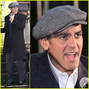 George Clooney Calls His Inner Brad Pitt