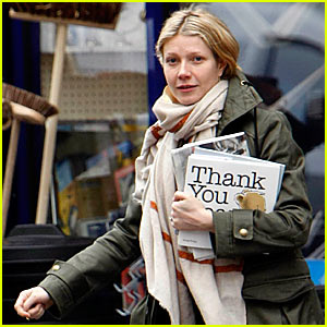 Thank You, Gwyneth Paltrow