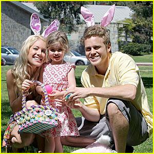 Heidi Montag's Family Easter