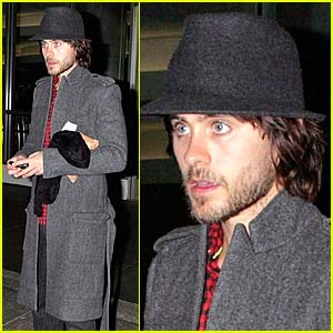 Jared Leto is a Shy Guy