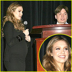 Jessica Alba - The Incredible Lovable Baby Bump