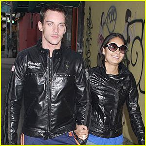 Jonathan Rhys Meyers is a Leather Jacket Lad