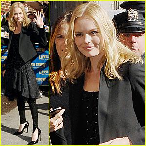Kate Bosworth @ Letterman