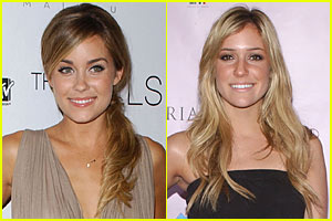 Lauren Conrad & Kristin Cavallari on the Mends