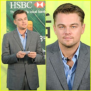 Leo DiCaprio Helps Credit Cards Go Green