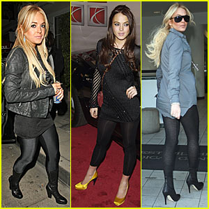Lindsay Lohan Leggings -- Soon on Sale!