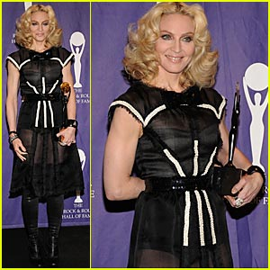 Madonna Inducted into Rock & Roll Hall of Fame