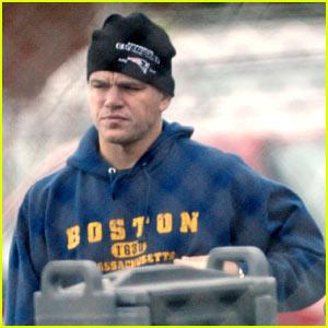 Matt Damon is a Boston Boy