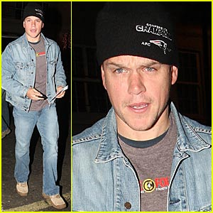 Matt Damon is a Denim Dude