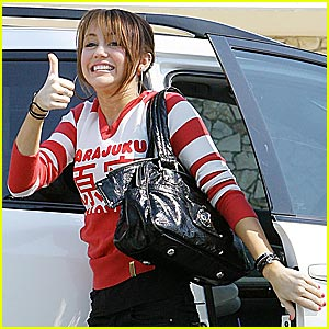 Miley Cyrus is a Harajuku Girl
