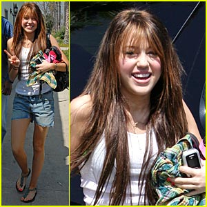 Miley Cyrus is a Wax Figure