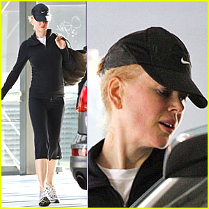 Nicole Kidman's Baby Bump Loves to Jump