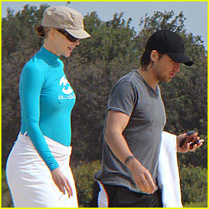 Nicole Kidman's Marubra Beach Baby Bump