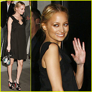 Nicole Richie Has Trembled Blossoms